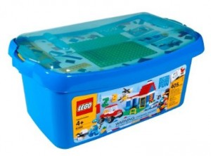 Lego tub set, just one of thousands. Picture from Ebay.