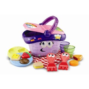 Leapfrog sharing basket which encourages learning from baby to pre-school age. Picture from Amazon.