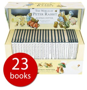 The Peter Rabbit collection is a beautiful gift for children of all ages. picture: the book People