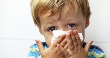 kid-blowing-nose-flu