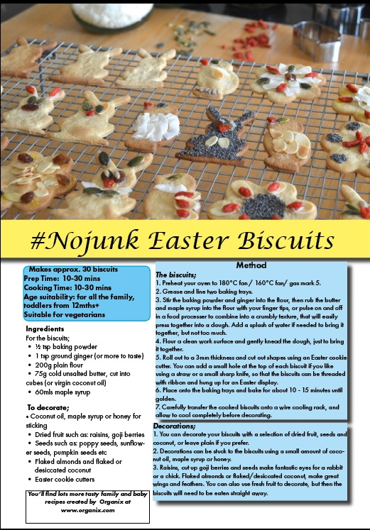 Organix Easter Biscuits