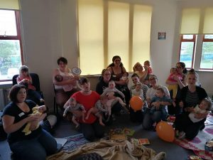 Our first ever breastfeeding cafe, 2018